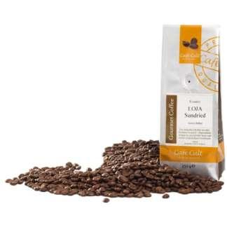 ecuador loja sundried kaffeebohnen sonnengetrocknet