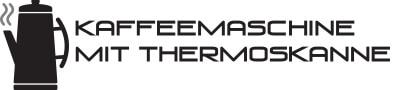 Logo - Kaffeemaschine mit Thermoskanne