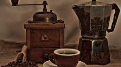 Wer hat die Kaffeemaschine erfunden - Beitragsbild