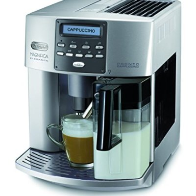 DeLonghi-One-Touch-ESAM-3600-Kaffeevollautomat-Elegance-Milchbehlter-silber-0