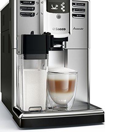 Saeco-HD891701-Incanto-Kaffeevollautomat-AquaClean-integrierte-Milchkaraffe-silber-0-0