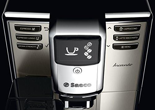 Saeco-HD891701-Incanto-Kaffeevollautomat-AquaClean-integrierte-Milchkaraffe-silber-0-2
