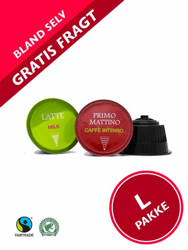 DolceGusto ® kompatible kaffekapsler - L pakke -Pakketilbud med GRATIS FRAGT -Dolce Gusto ® kompatible kapsler