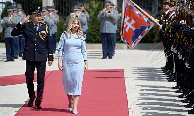 Zuzana Caputova will travel to Prague for her first foreign trip