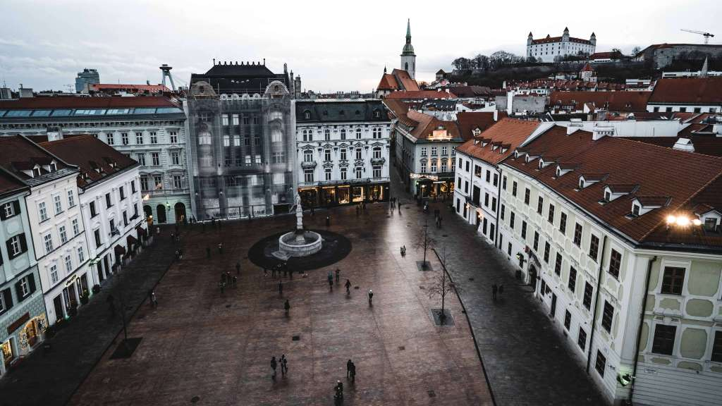 Bratislava ranks among the richest regions in the EU