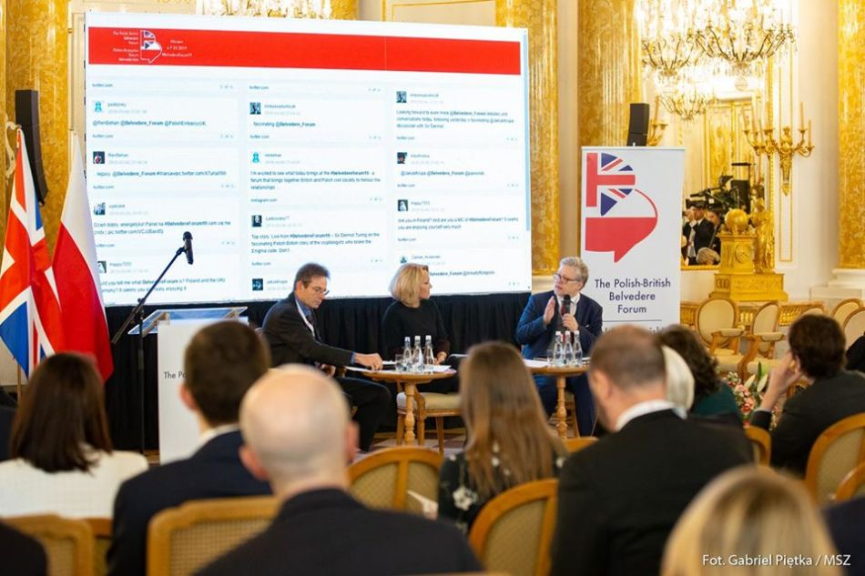 UK Polish Belvedere Forum Warsaw Kasia Madera Sir Dermot Turing March6-7 2019