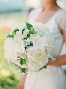 Gardenia bouquet. Photo: Eric Kelley via Wedding Chicks on ILoveSWmag.com.