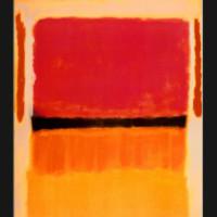 "Mark Rothko, ""Untitled (Violet, Black, Orange, Yellow on White and Red),"" 1949."