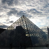 Louvre late afternoon