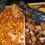 Seasonal mushrooms.