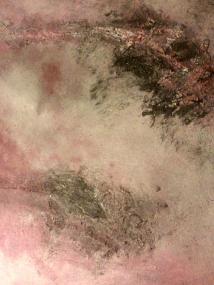 """Pink abstract"" by Montserrat Lopez Ortiz via fineartamerica.com"