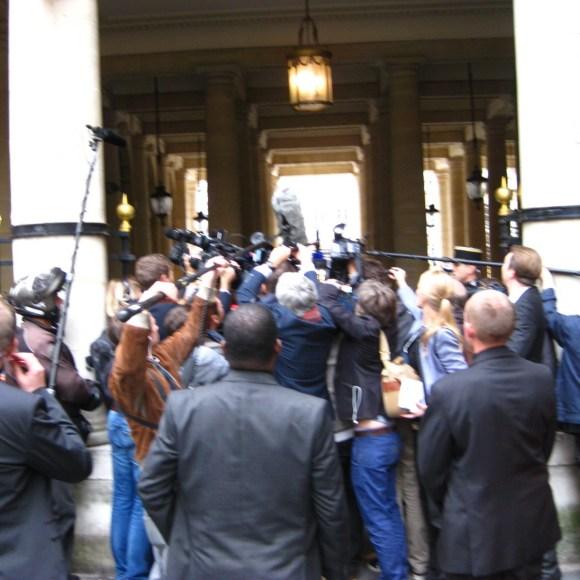 Political scene at Les Palais Royal