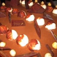 Hazelnut chocolate mousse torte on Sunday night
