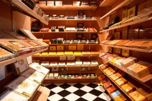 Cigar humidor room. Source: fivepalms.com