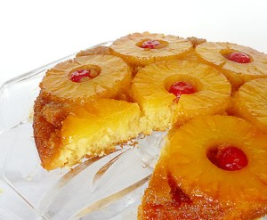 Pineapple upside-down cake. Source: browneyedbaker.com
