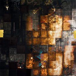 "Artist: Helen Abbas, Mosaic Collection, Summer 2013, ""(Erdowaz) Slate."" Source:  IslamicArtMagazine.com. (Website link embedded within photo.)"