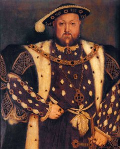 Henry VIII by Hans Holbein. Source: luminarium.org