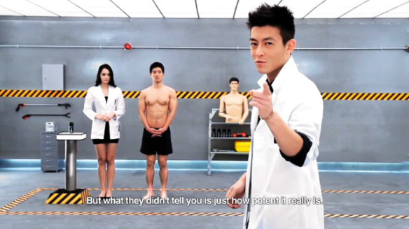 Edison Chen for Lynx in China. Source: Ad Age.