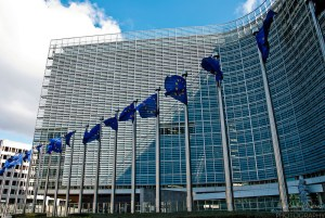 The Berlaymont building in Brussels, headquarters of the European Commission. Photo and source: acmphoto.photoshelter.com