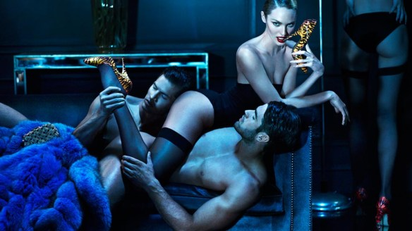 Photographers Mert & Marcus, photo campaign for Brian Atwood. Source: hommemodel.blogspot.com