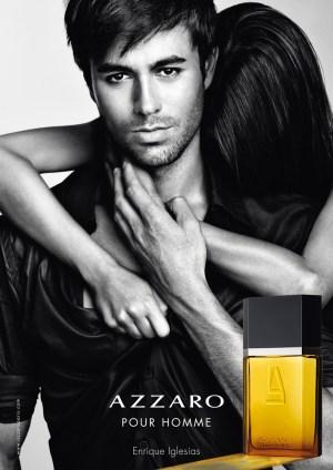 Enrique Iglesias for Azzaro Pour Homme Photo: Steven Klein. Source: fashionwindows.net