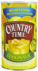 Country Time powdered lemonade mix. Source: Soap.com