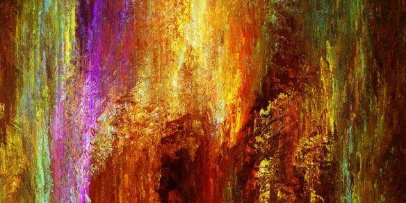 """Luminous,"" by Jaison Cianelli at cianellistudios.com  http://www.cianellistudios.com/abstract_art.html"