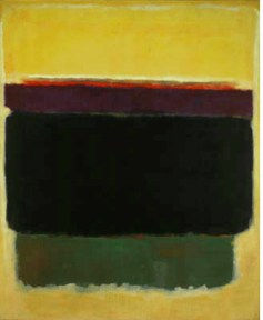 "Mark Rothko, ""Untitled 1949 (with Yellow, Brown, and Green)"" via Markrothko.org"