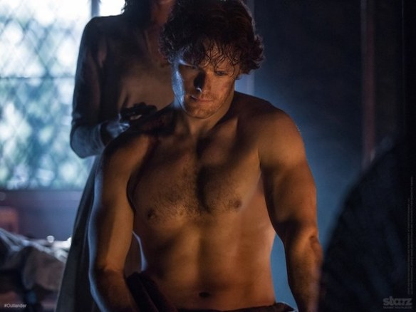 Jamie in Outlander. Source: cinemablend.com
