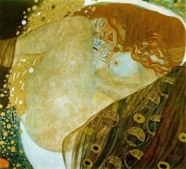 """""""Danae"""" by Gustav Klimt via WikiCommons."""