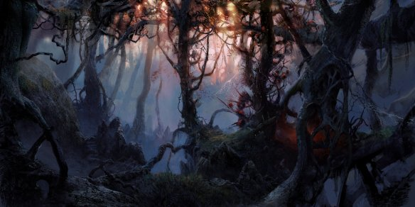 "Photo: ""Dark forest"" by VityaR83 on deviantART http://vityar83.deviantart.com/art/dark-forest-299891639"