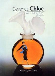 Vintage Chloé ad, circa 1979, via The Non-Blonde.