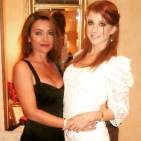Liz Moores (left) with her lovely daughter, Jasmine Moores. Photo: Liz Moores.
