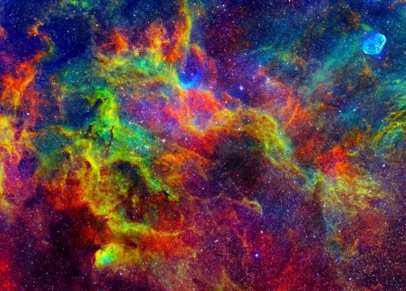 Nebulosa Tulipa. Source: curiosoblog.com.br