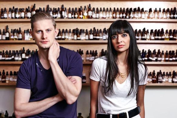 "David Seth Moltz  & Kavi ""Durga"" Ahuja. Source: Vanityfair.com"