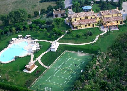 Part of the multi-acre Germano Reale Agritourismo complex. Photo: Germano Reale from their website.