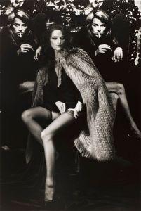 Charlotte Rampling. Photo: Helmut Newton. Source: culturaeculture.it