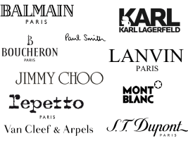 Some of the many brands operated by Interparfums. Source: monipag.com