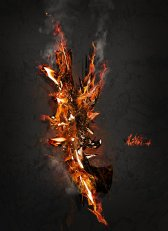 """""""The Elements: Fire"""" by Stormfire-SF on DeviantArt. (Direct website link embedded within.)"""