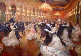 """The Viennese Waltz"" by Vladimir Pervunensky, 2007. Source: Pinterest."