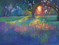 """Lingering light"" by Karen Mathison Schmidt via her site. (Direct website link embedded within.)"