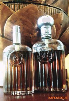 My 1980s Giorgio For Men, 2.5 oz and 4 oz bottles. Photo: my own.