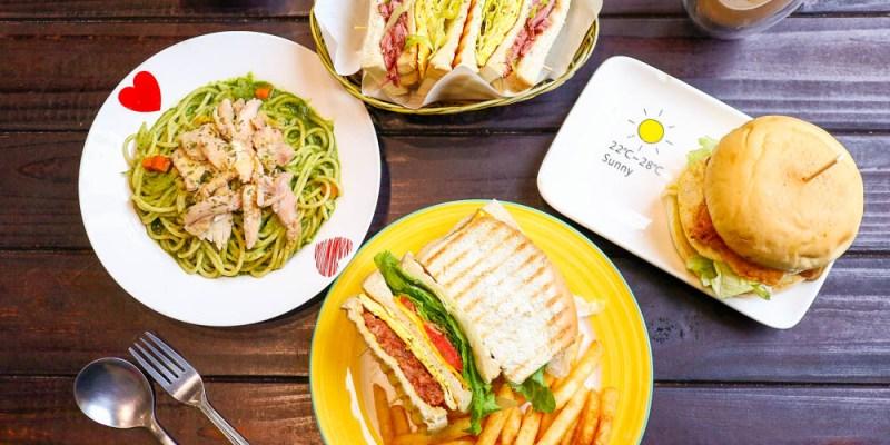 【羅東早午餐】喫堡 宜蘭風格的早餐必點限量版辣豬鮮蔬起司三明治、三星嫩蔥鴨賞三明治