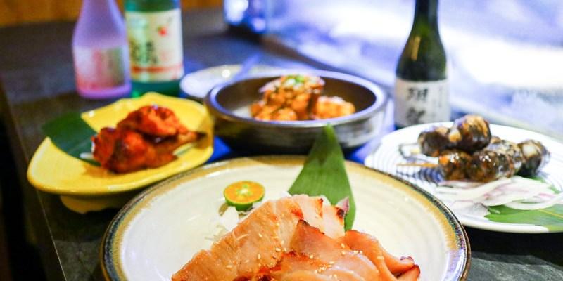【礁溪宵夜】跨力酒食日式居酒屋|燒烤小酒館也可以來吃晚餐的深夜食堂