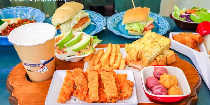 【羅東早午餐】瓦瓦世創意早午餐|品嚐炒泡麵和打拋豬平日還能吃到晚餐時間