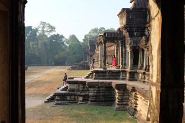 Angkor Wat - Hinterhof