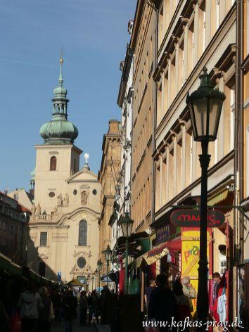 Auf dem Weg in die Altstadt