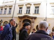 Zeltnergasse / Das Haus, wo Kafka seine Jugend verbrachte