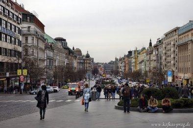 Wenzelsplatz (Václavské náměstí)