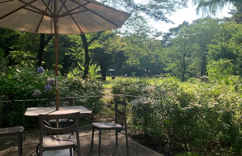 打ち合わせ場所にさいこう!屋外テラスがあるカフェ──《cafe TEIEN》(東京・白金台)